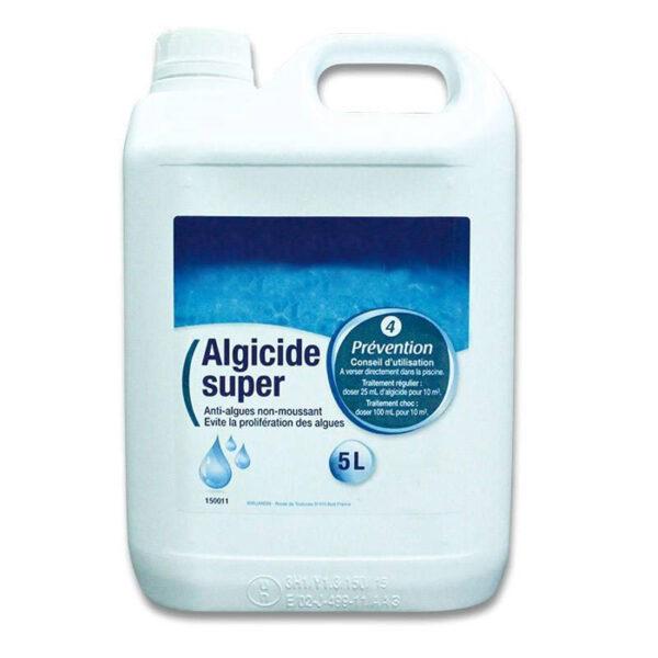 ALGICIDE SUPER 5L : Un traitement anti-algues