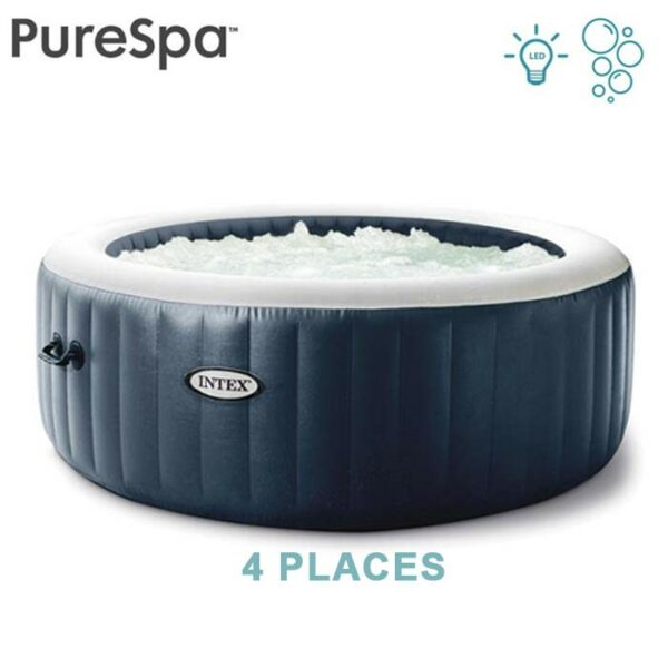 Spa gonflable INTEX Blue Navy 4 places PURESPA